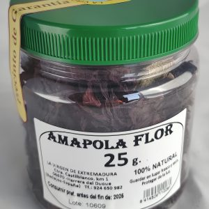 Amapola Flor, 25 G