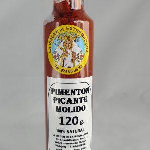 Pimentón Picante Molido, 120 G